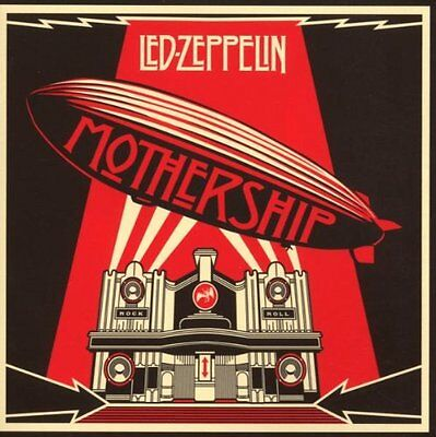Mothership: The Very Best of Led Zeppelin Audio CD  BRAND NEW  0081227996154