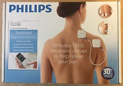 Philips Pr3093/00 Wireless Tens Relief Unit With Activity Monitoring New Sale