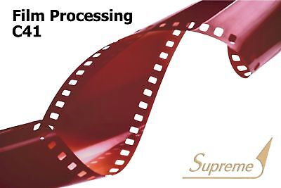 35mm C41 Film Development Processing & 6x4 Lustre Printing with CD up to 39 EXP