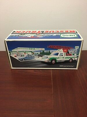 1994 Hess Rescue Truck - New In Box