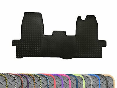 Tailored Heavy Duty Black 1pc Rubber Floor Mat for Ford Transit MK8 (2014 on)