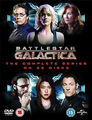 Battlestar Galactica The Complete Series DVD Boxset New and Sealed 5050582708707