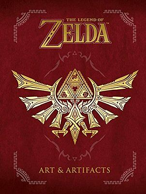 The Legend of Zelda: Art and Artifacts Brand New 9781506703350