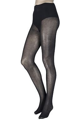 Ladies 1 Pair Trasparenze Georgia 100 Denier Cashmere Flat Seam Tights