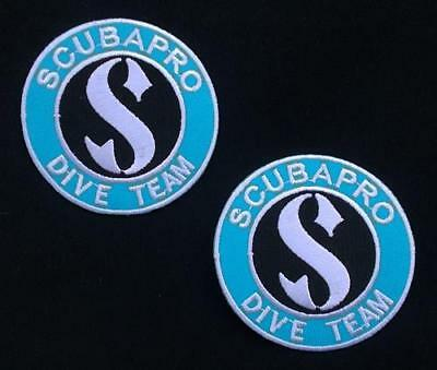 Scuba Pro Dive Team Diving Equipment Sports Jacket Shirt Patch (2*patch Lot)