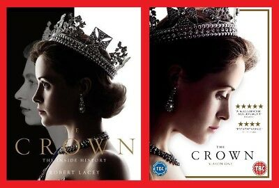 The Crown Gift Pack The Official Book of Season 1 Plus Season 1 DVD Boxset New