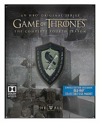 Game of Thrones Complete Season 4 BluRay Limited Edition Steelbook 5051892193986