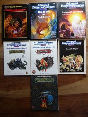 diverse AD&D 2nd Edtion Module zur Auswahl (D&D, TSR, Ravenloft)