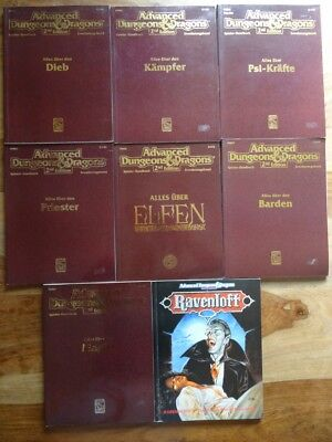 diverse AD&D 2nd Edition Module zur Auswahl (D&D, Ravenloft)