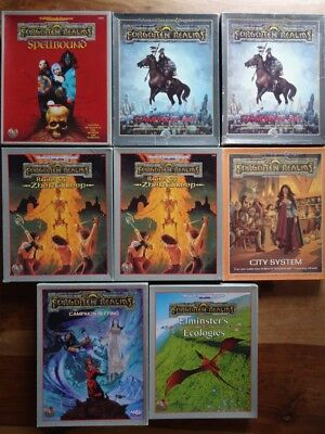 AD&D Forgotten Realms - Different Box-Set´s (AD&D, TSR)