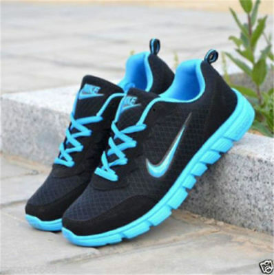 NEW Men&Womens PUMPS TRAINERS LACE UP MESH SPORTS RUNNING CASUAL GYM FREE SHIP