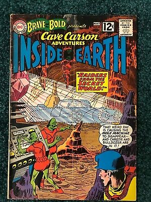 Bold and Brave Presents  # 41 Cave Carson Inside Earth - 1962