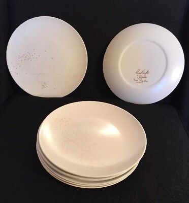 Russel Wright by Knowles Queens Annes Lace Dinner Plates Set Of 8 Mid Century