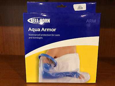 Bell Horn Aqua Armor Water Proof Protection for casts and Bandages Adult Long A1