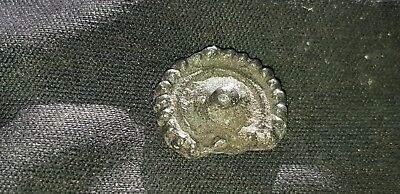 Exquisite rare tiny Roman silver adornment found at Villa area Yorks Britain L5u