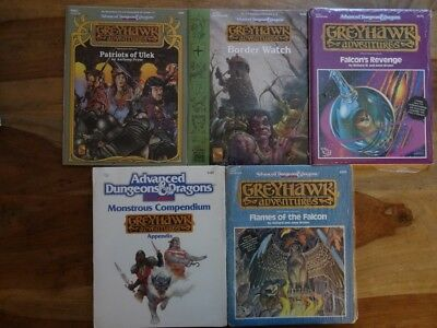 GreyHawk Adventures - NEW SEALED & still in SHRINK WRAP (AD&D, TSR)