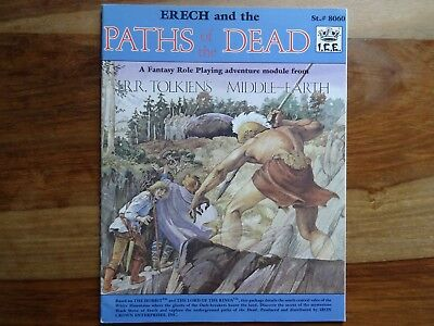 Erech and the Paths of the Dead (MERP, Rolemaster)