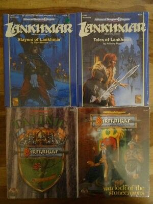 Lankhmar, Birthright - NEW SEALED & still in SHRINK WRAP (AD&D, TSR)