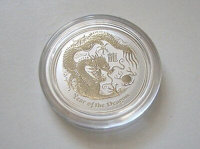 1/2 oz Perth Mint Year of the Dragon 2012 - Lunar Dragon