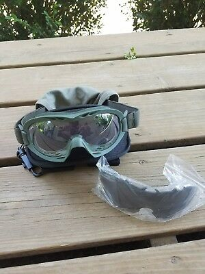 WileyX Z87 Anti Dust Storm Military Issue Goggles OD Green Motorcycle Gun Safety