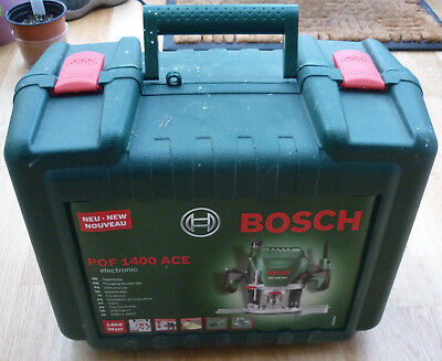Bosch POF 1400 ACE Router Used Boxed hardly used