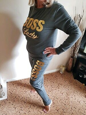 Boss lady tracksuit *Plus sizes - 14 to 20*