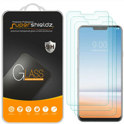 3X Supershieldz for LG G7 ThinQ Tempered Glass Screen Protector Saver