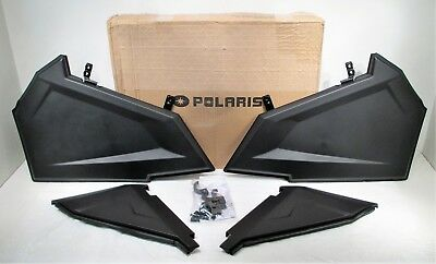 Genuine Polaris 15-17 RZR 900/ 900 EPS Lower Door Inserts Lower Half Doors New