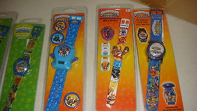 BEAT THIS TRADE LOT OF 60 X MIX  Character Watches  Skylanders  Watchs 100% NEW.