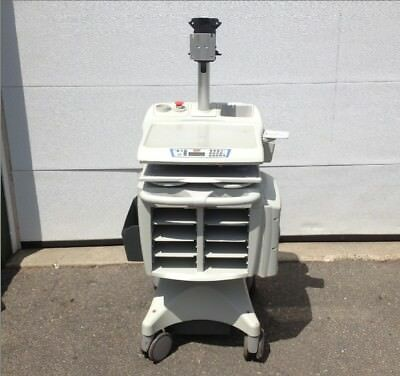 Rubbermaid Medical Solutions FG-9M39R8 Cart w/ Monitor Mount No Back Cover