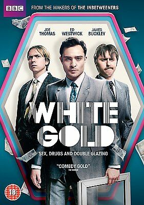 White Gold [DVD] [2017] Brand New Ed Westwick James Buckley 5051561042041