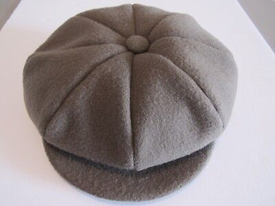 Vintage 100% Wool Cap Bengal Lancer Hat Made in Canada Union Label Sz 7 1/4