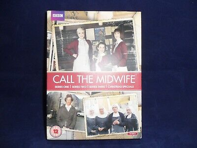 Call the Midwife - Series 1-3 Box Set  REGION 2+4 PAL UK DVD 11 DISC
