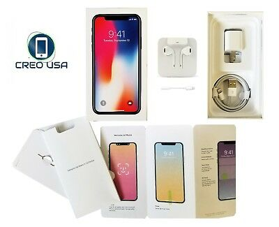 iPhone X Box Original Apple iPhone 10 Retail Box With ALL OEM Accessories Option