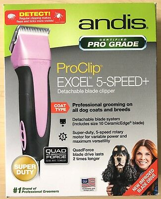 Used!!!Andis ProClip Excel 5-Speed PLUS