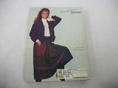 Vintage 1984 Fall Winter Sears Catalog Home Fashion