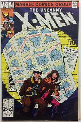 Uncanny X-Men #141 first apps Rachel Summers, Mystique, Destiny (1981 Marvel)