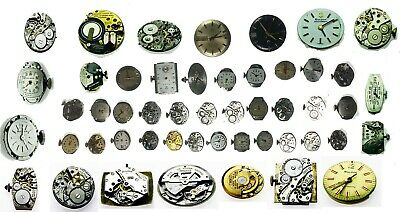 Bulova Antique Vintage Watch Movement For Parts or Replacement Repair Verities