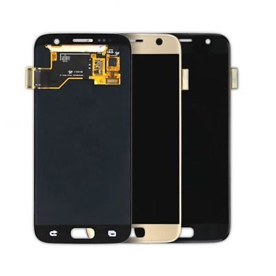 US Full Lcd Touch Screen Digitizer For Samsung Galaxy S7 G930A G930T + Adhesive