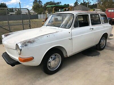 Volkswagen Type 3 Wagon 1600 Rare, Barn Find, Collectable, Beetle, Kombi, Patina
