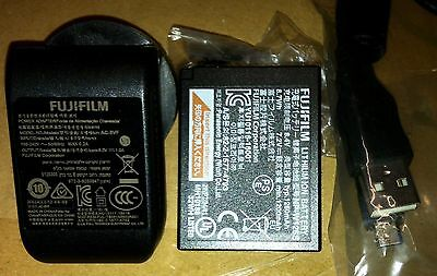 2x Fujifilm battery NP-W126S, 1 Charger. New & Genuine Original SPECIAL $149