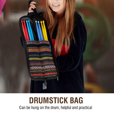 1pc Cotton Drum Stick Case Bag Holder Carrying bag with Handle