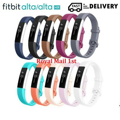 For Fitbit Alta & Alta HR Strap Classic Silicone Replacement Sports Watch Band