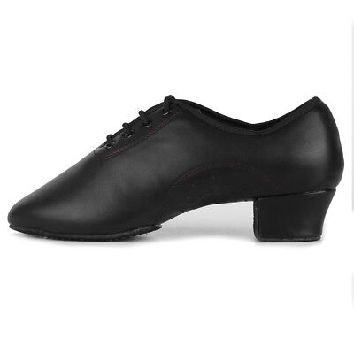 Man Boy Ballroom Tango Latin Dance Dancing Shoes heeled Salsa dancing shoes