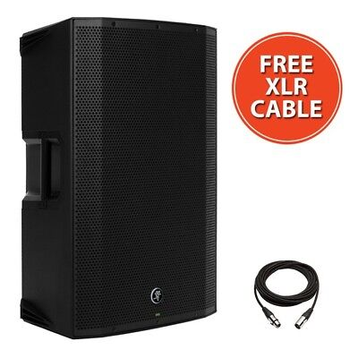 "Mackie Thump 15A V4 Active 15"" 1300W DJ Disco PA Speaker With FREE XLR Cable"