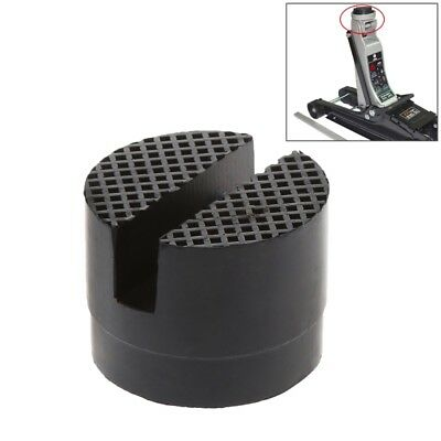 Floor Slotted Car Rubber Jack Pad Frame Protector Adapter Jacking Disk Pad Tool