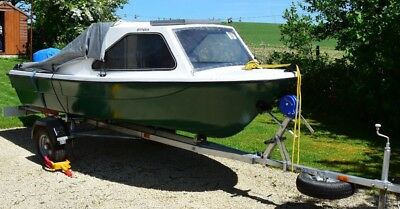"13` 6""  Day / Fishing Boat. Mariner 6hp 4 Stroke Outboard. Snipe Trailer. Superb"