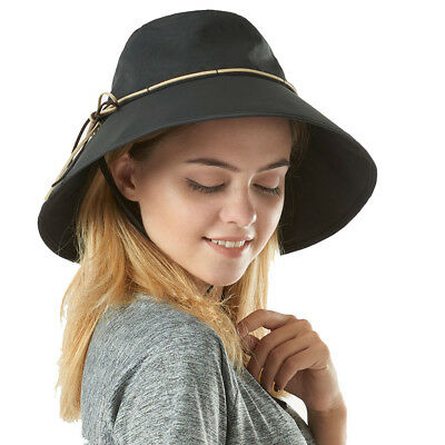 Summer Women Wide Brim Sun Hat Fashion Fishing Bucket Hat Travel Cap