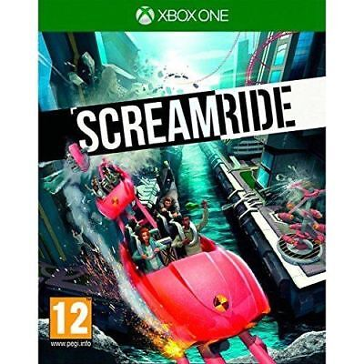 SCREAMRIDE Theme Park Game - XBOX ONE - NEW & SEALED - FREE UK POST