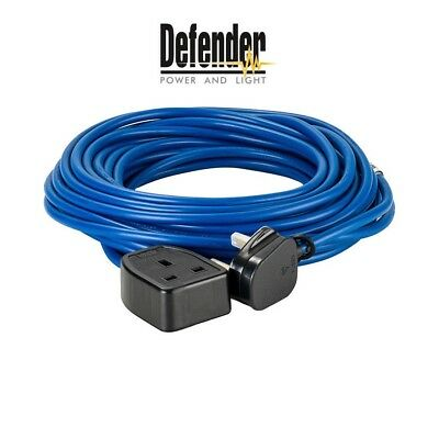 Defender 14m, 1.5mm, 13A Cable 240v Extension Lead Trailing Lead E85222